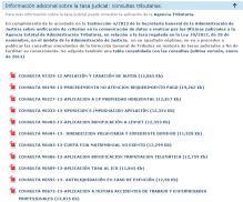 Web oficial del Ministerio de Justicia.