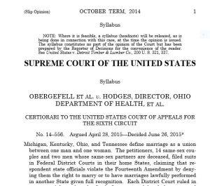 TS USA sentencia matrimonio homosexual