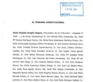 recurso PSOE 19-2-2013