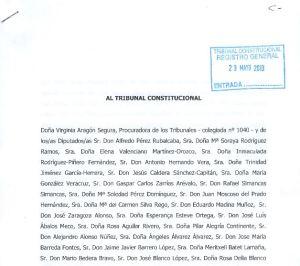 recurso PSOE 23-mayo 2013 contra RDL 3-2013